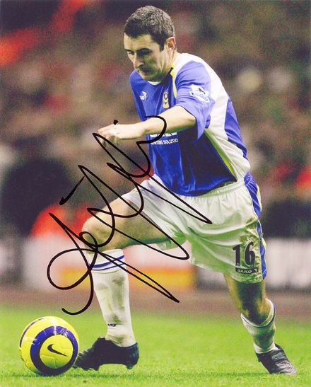 Andy Griffin, Portsmouth, signed 10x8 inch photo.